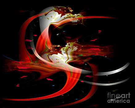 Swirling by Doris Wood