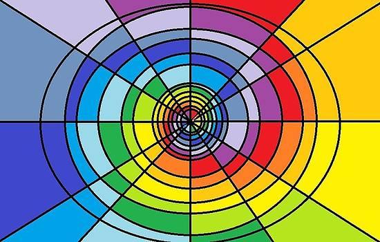 Swirly Colors by Shai Horowitz