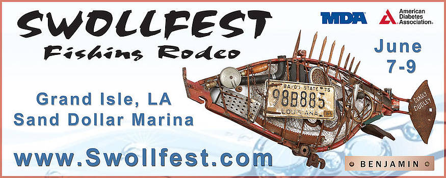 Swollfest Billboard by Benjamin Bullins
