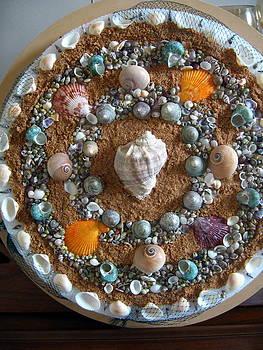 Synrchronized Sea Shells Mandala by Jessica Modicamore