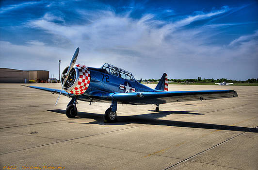 T-6 Texan by Dan Crosby