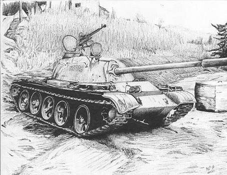 T55 somewhere in Bosnia by Reppard Powers
