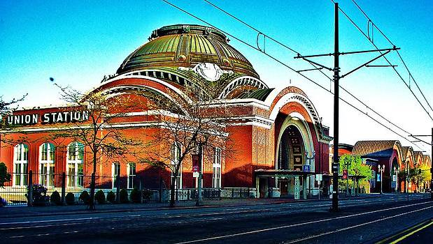 Tacoma Union Station by Marilyn Lyon