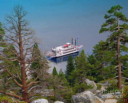 Patrick Witz - Tahoe Paddle Boat