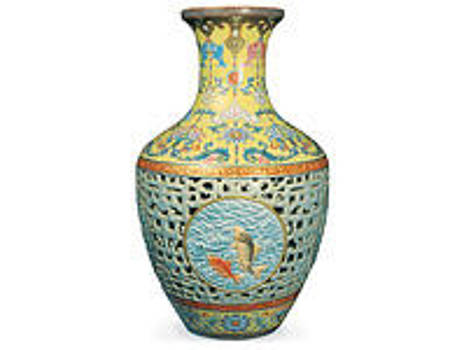 Taiwan Artist by Chinese Art Vase