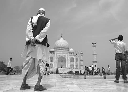 Taj as i see  by Omesh Meena