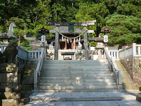 Takayama shrine by Chris Wolf