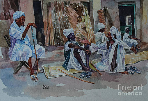 Talk in the market by Mohamed Fadul