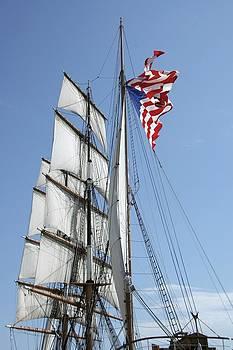 Tall Ship by Ryan Louis Maccione