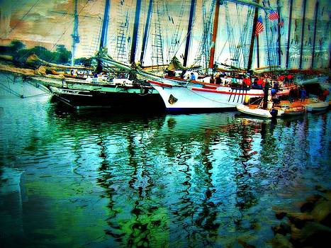 Tall Ships by Kevin Moore