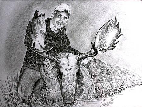 Tamed Moose by Carolyn Ardolino