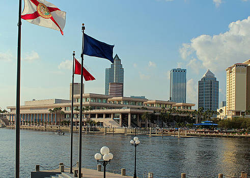 Tampa Convention Center by Dorothy Riley