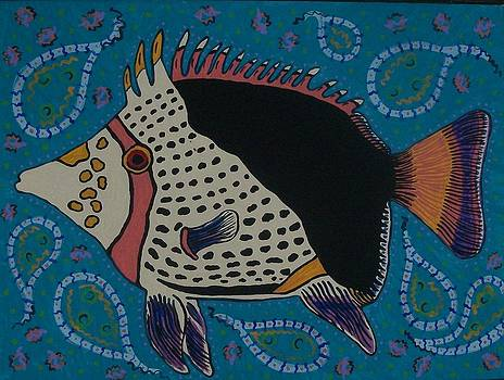 Tang Fish by Debbie Talman