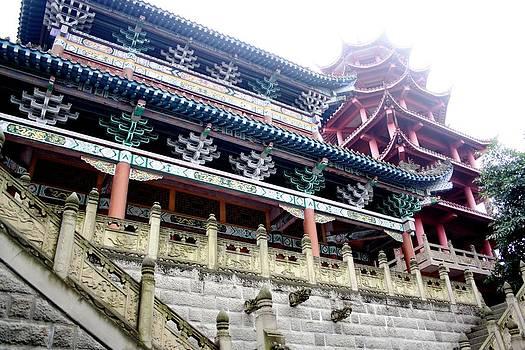 Gai Sin Liem - Tao Temple in China