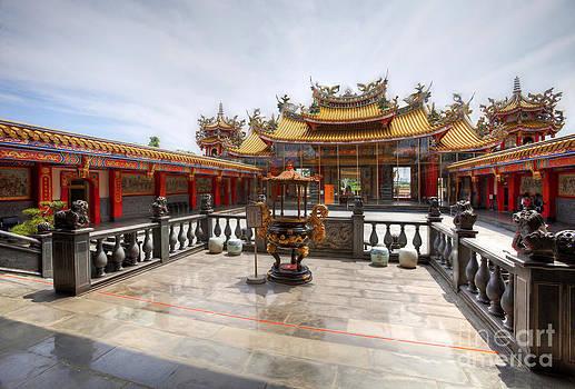 Taoist Temple 2 by Tad Kanazaki