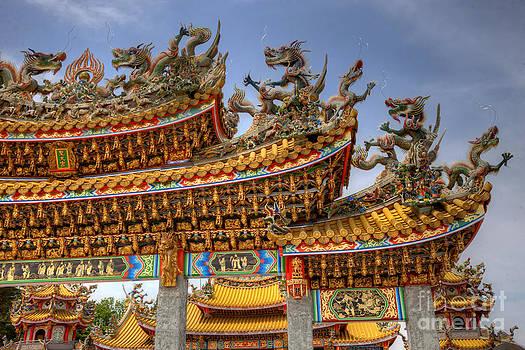 Taoist Temple 5 by Tad Kanazaki