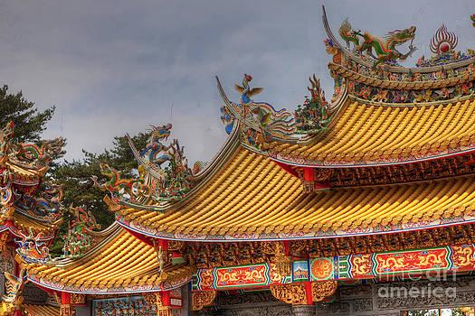 Taoist Temple 7 by Tad Kanazaki