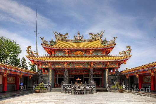 Taoist Temple by Tad Kanazaki