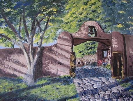 Taos Gate by Don Hutchison