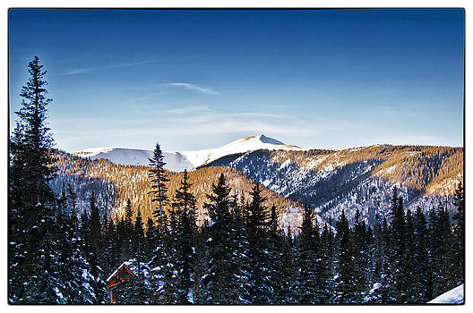 Taos Mountains Sunset  by Lisa  Spencer