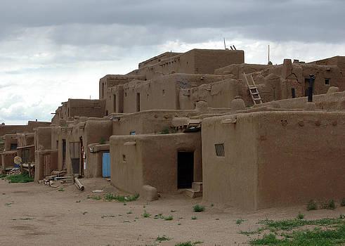 Taos Pueblo by Jonathan Schreiber