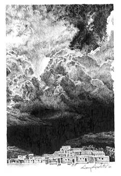 Taos Storm by Gary Gackstatter