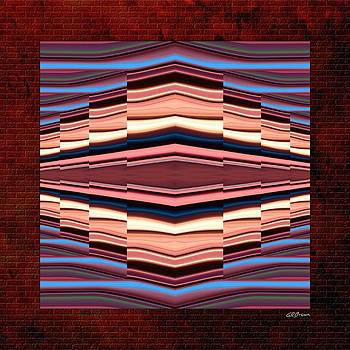 Tapestry on a Brick Wall by Greg Reed Brown
