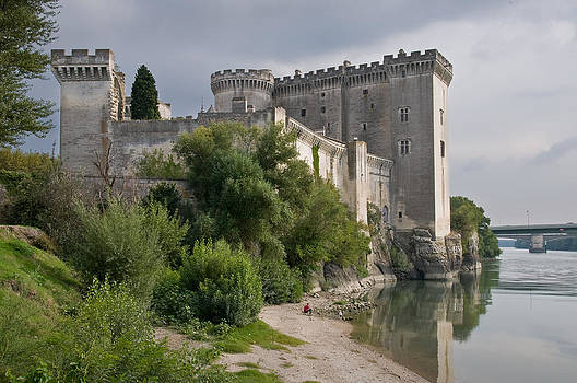 Tarascon Castle on the Rhone by Kent Sorensen