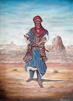 Targui folklore by Abbas Djamat