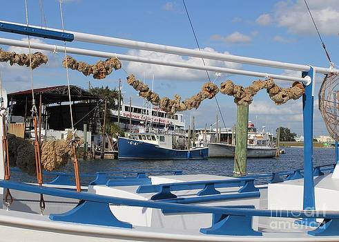 Tarpon Springs Sponge Boat by Theresa Willingham