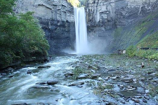 Taughannock Falls by Michelle Ouellette