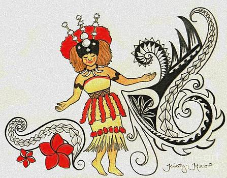 Taupou Samoa by Kristy Mao