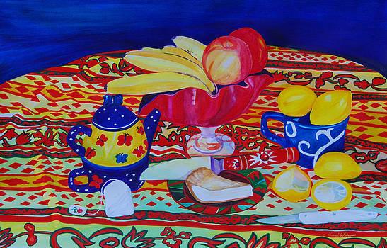 Tea and Pie by Rene LeGrue