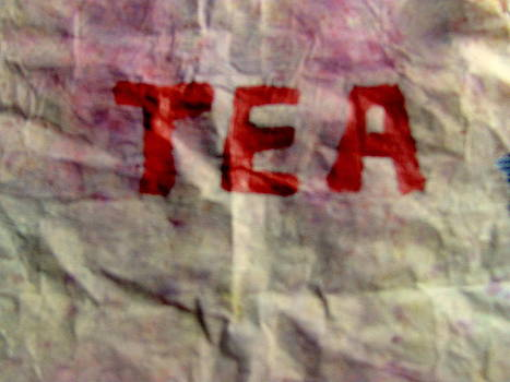 TEA on Tea Bag by Amy Bradley