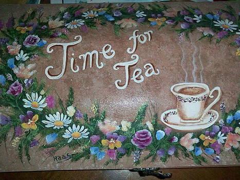 Tea Time by Fran Haas