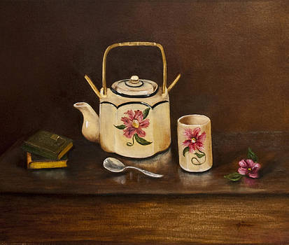 Tea With Mom and Grandma by Gina Cordova