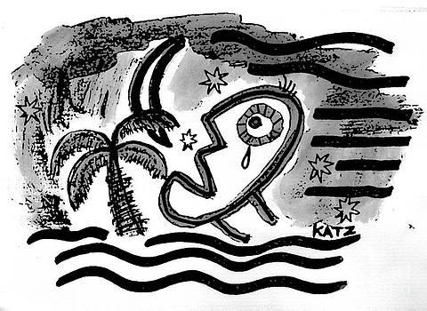 Tears Moon And Palm by Daniel Katz