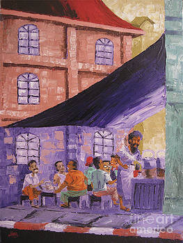 Teashop by Aung Min Min