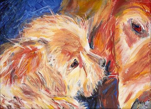 Teddy and Friend by Arthur Rice