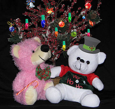 Teddy Bear Christmas by Victoria Sheldon