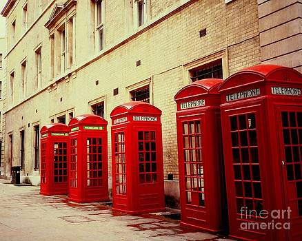 Telephone Booths by Ranjini Kandasamy