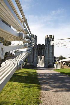Telford suspension bridge by Christopher Rowlands