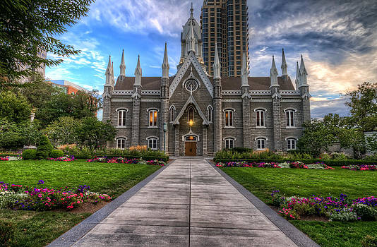 Temple Square Assembly Hall by Brad Granger