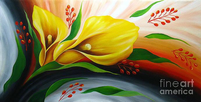 Tender Anemone by Uma Devi