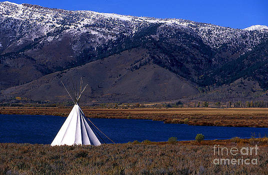 Tepee by Barry Shaffer