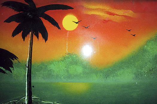 Tequila Sunrise by Artista Elisabet