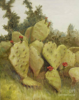 Texas Prickly Pear by Diana Cox