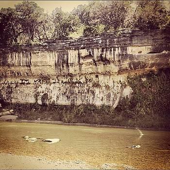 #texas #river Caught The Splash Of by Bella Guzman