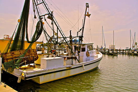 Frank SantAgata - Texas Shrimp Boat