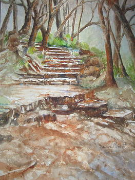 Texas Trail by Marilyn  Clement